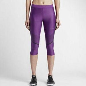 NWOT Nike Power Speed Running Training Capri
